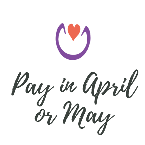 Pay in April or May