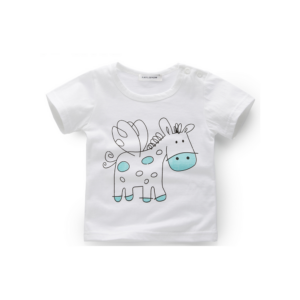 horse t-shirt for baby boy or girl