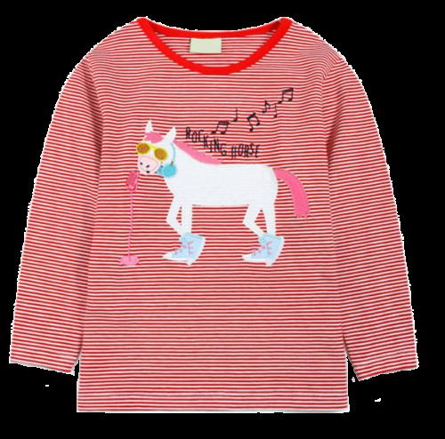 child's horse top rockin' horse design