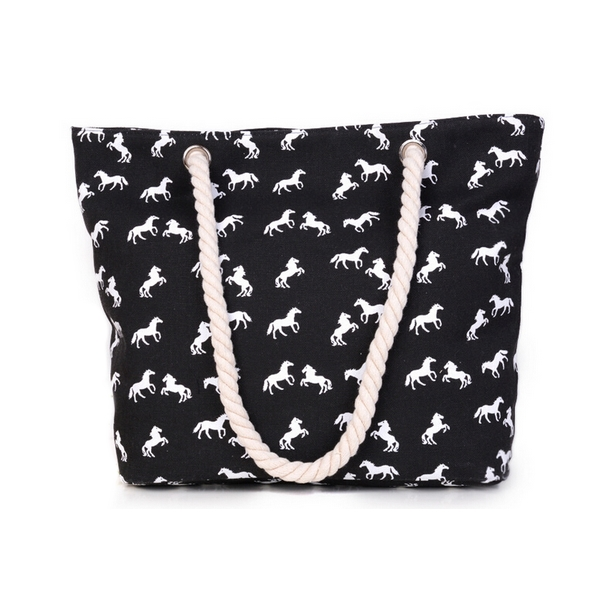 horse themed bag tote style