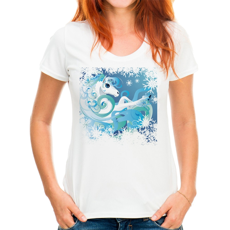 ladies horse themed t-shirt