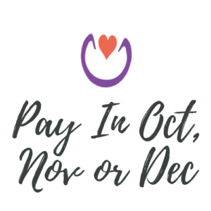 Pay in Oct, Nov or Dec