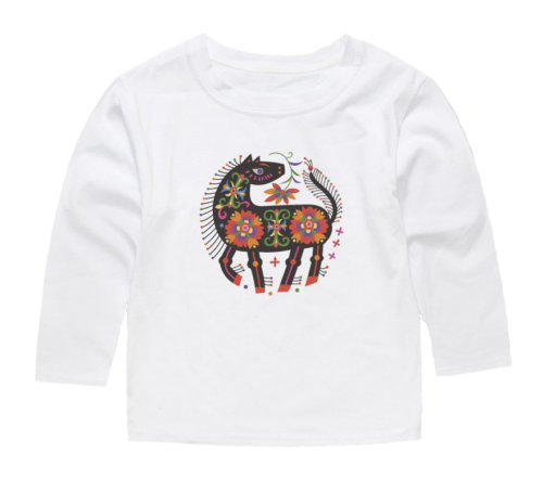 horse design t shirt for kids
