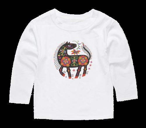 horse design t shirt for kids