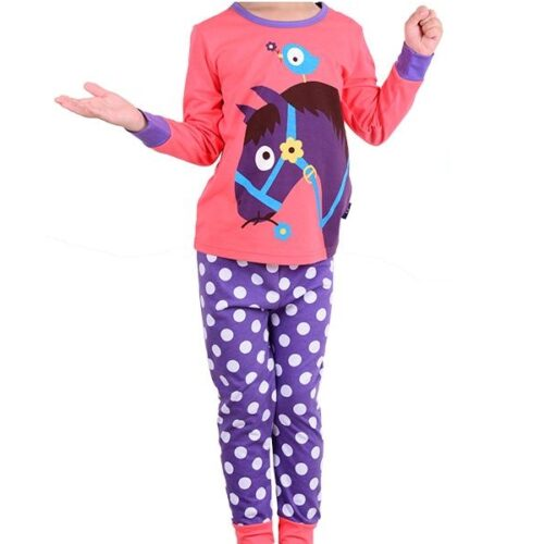 girls horse themed pyjamas 2