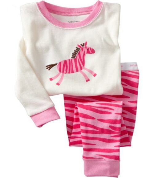 girls horse print pyjamas