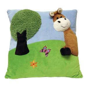 horse pillow plush cushion