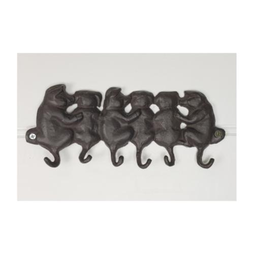 cast iron pig hooks