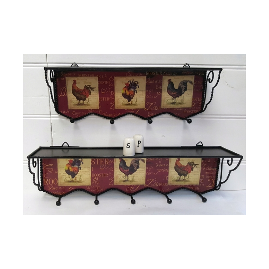 rooster shelves