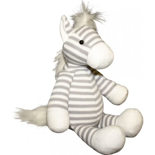 striped horse soft toy